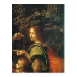 Em Madonna d de Pormenor de Uriel de la descripció Postal