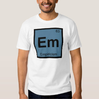 Em - Símbolo de la tabla periódica de la química Playera