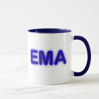 EMA Blue Neon Mug