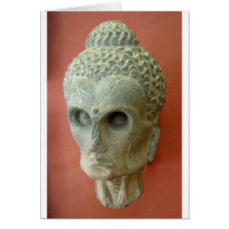 Emaciated Buddha (2-3rd century CE) Card