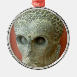 Emaciated Buddha (2-3rd century CE) Metal Ornament