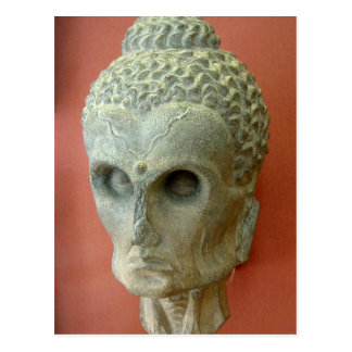 Emaciated Buddha (2-3rd century CE) Postcard