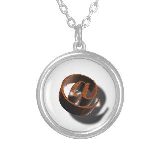 Email-email-1376384 Silver Plated Necklace