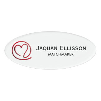 email for you heart design your ideas name tag - Name Tag Design Ideas