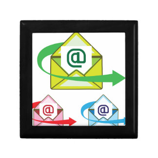Email Icon mail sent vector Gift Box
