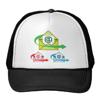 Email Icon mail sent vector Trucker Hat