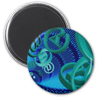 Email 2 Inch Round Magnet