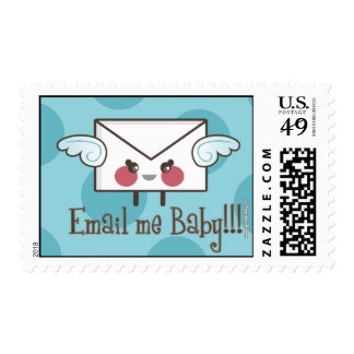 email me baby blue postage stamps