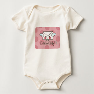 email me baby body pink baby bodysuit