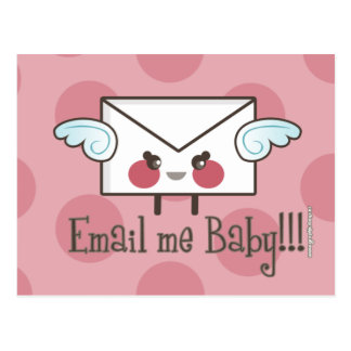 email me baby postcard