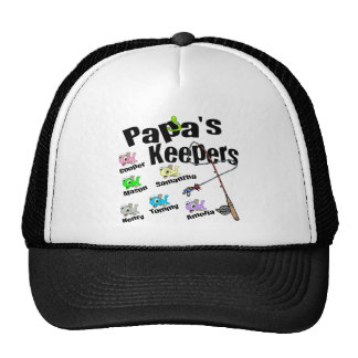 Email me BEFORE you order Papa's Keepers Trucker Hat