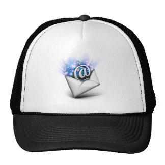 Email radiating trucker hat