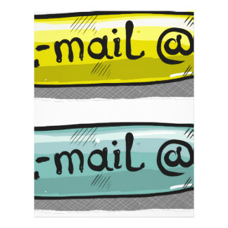 EMail Sketch Button Web Letterhead