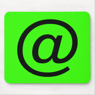 eMAIL SYMBOL Mousepads