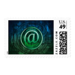 email theme post stamp