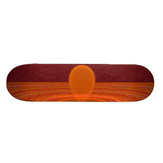 Emanations Abstract Art Skateboard Deck