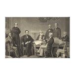Emancipation Proclamation 1866 Canvas Print
