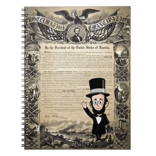 Emancipation Proclamation and Honest Abe Lincoln Journals