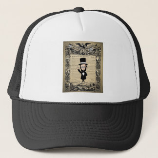 Emancipation Proclamation and Honest Abe Lincoln Trucker Hat
