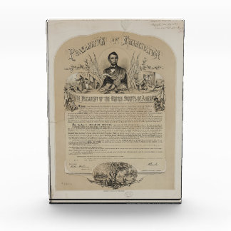 Emancipation Proclamation B B Russell & Co (1868) Award