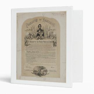 Emancipation Proclamation B B Russell & Co (1868) Binder