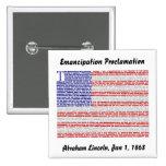 Emancipation Proclamation Buttons
