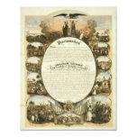 Emancipation Proclamation by L. Lipman 4.25x5.5 Paper Invitation Card