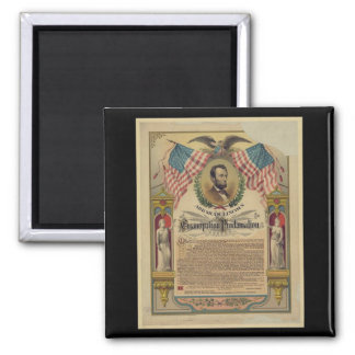 Emancipation Proclamation Document Magnet