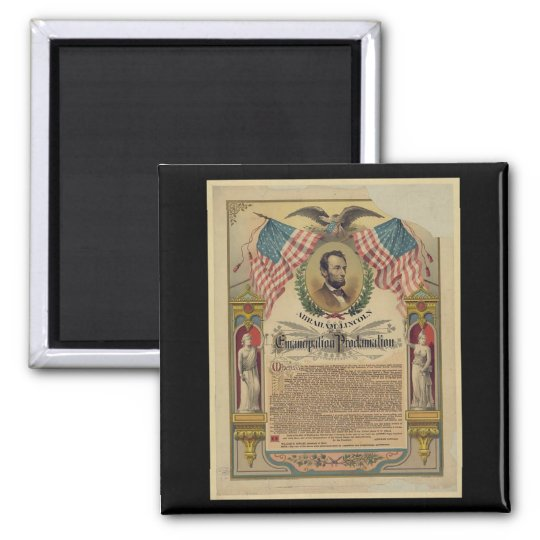 Emancipation Proclamation Document Magnet