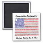 Emancipation Proclamation Fridge Magnet