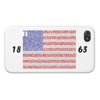 Emancipation Proclamation Case For iPhone 4