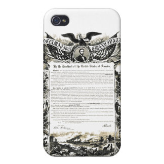 Emancipation Proclamation iPhone 4 Covers
