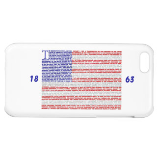 Emancipation Proclamation Case For iPhone 5C