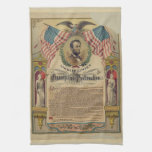 Emancipation Proclamation Kitchen Towel