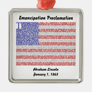 Emancipation Proclamation Ornament