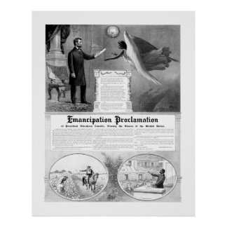 Emancipation Proclamation Posters