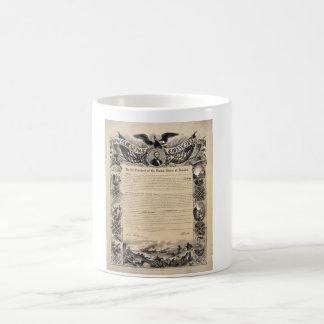 Emancipation Proclamation Print Coffee Mug