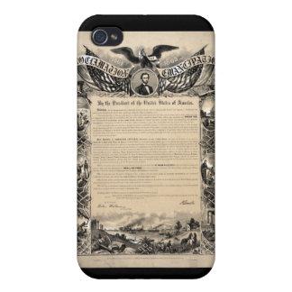 Emancipation Proclamation Print iPhone 4 Covers