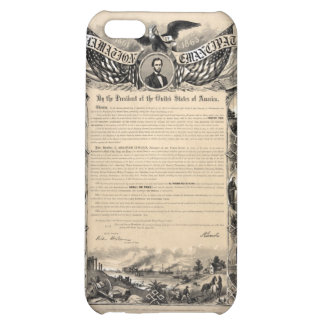 Emancipation Proclamation Print Cover For iPhone 5C