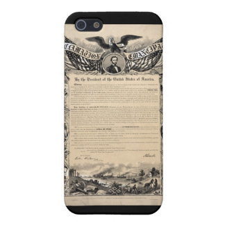 Emancipation Proclamation Print Cases For iPhone 5