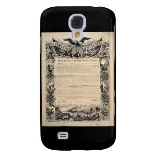 Emancipation Proclamation Print Samsung Galaxy S4 Cover