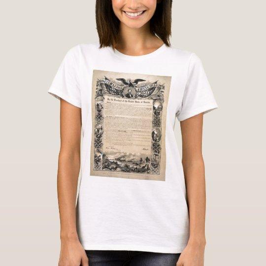 Emancipation Proclamation Print T-Shirt