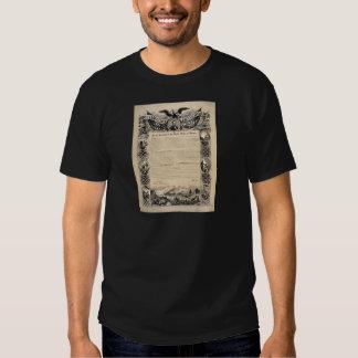 Emancipation Proclamation Print Tee Shirt
