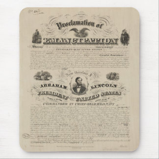 Emancipation Proclamation Reprint from A. Kidder Mouse Pad