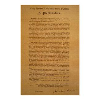 Emancipation Proclamation Typeset 1864 Personalized Stationery