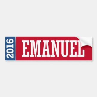 EMANUEL 2016 BUMPER STICKER