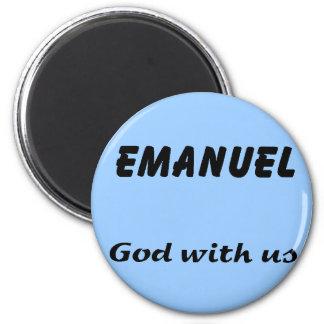 Emanuel 2 Inch Round Magnet