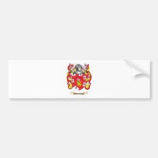 Emanuel Coat of Arms Bumper Stickers