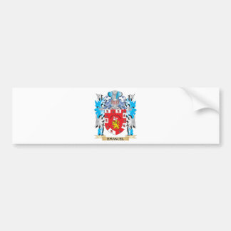 Emanuel Coat of Arms - Family Crest Bumper Stickers