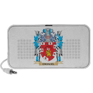 Emanuel Coat of Arms - Family Crest Mp3 Speakers